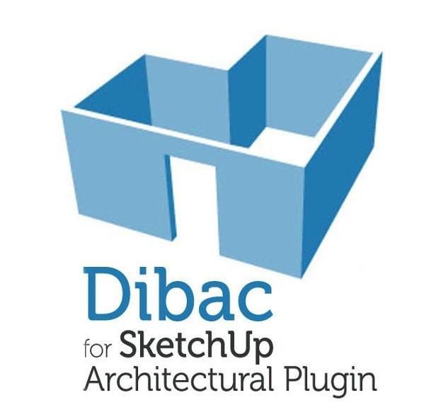 Dibac - architektovnické kreslení pro SketchUp